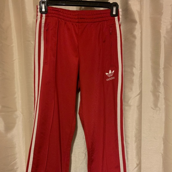 adidas red pant